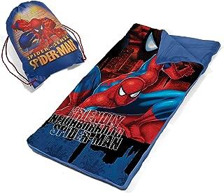 Marvel Spiderman Slumber Bag Set