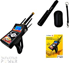 Gold Hunter 2019 Last Version 6 Search Systems + Free GP Pinpointer. Long Range Metal Detector - Underground Depth Scanner & Distance Targeting for Gold, Silver, Coins, Jewelry, Cavity and Treasures