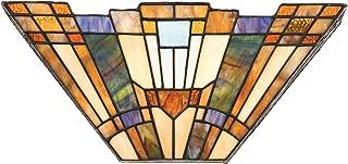 Quoizel TFIK8802 Inglenook Geometric Wall Sconce, 2-Light, 120 Watts, Tiffany (7