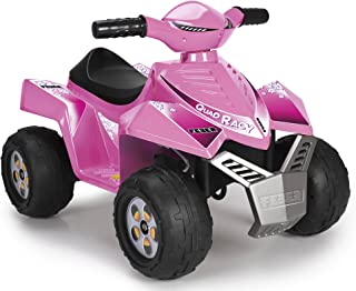 FEBER - Quad Racy 6 V, Color Rosa (Famosa 800011422