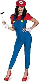 Disguise Women's Nintendo Super Mario Bros.Mario Female Deluxe Costume