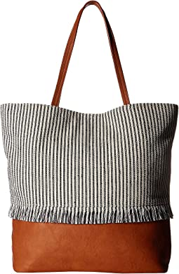 SOLE / SOCIETY Aurora Fringe North/South Tote