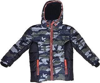 Little Boys Falls Creek Camoflague Jacket- winter coat Size XS 4/5