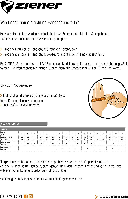 imperm/éables Gants de Ski pour gar/çon//Sports dhiver Ziener Labinos As Respirants r