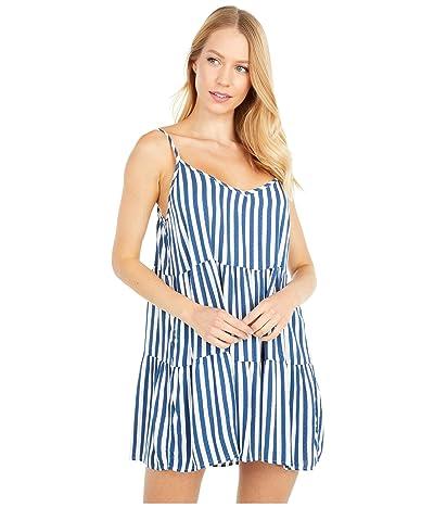 Show Me Your Mumu Caroline Mini Dress (Ocean Stripe) Women