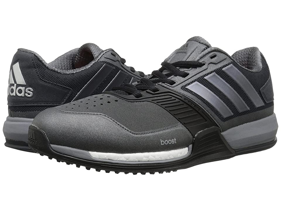 adidas Crazytrain Boost (Dark Grey/Night Metallic/Solar Red) Men