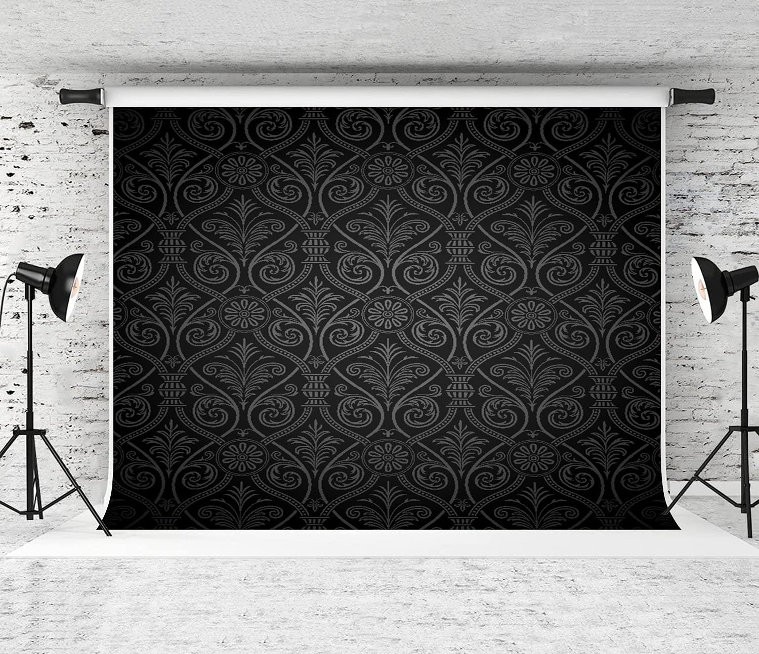ZOANEN Photography Background Antique security Pattern Discount mail order Mild Baroque with