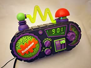 Time Blaster Vintage Nickelodeon Rise & Slime Digital Alarm Clock AM/FM Radio