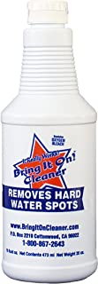 Grout Cleaner, Hard Water Stain Remover, Remove Spots on Shower Door, Clean Tile, Fiberglass, Windows, Grout Lines Bring It On Cleaner 16 Ounce