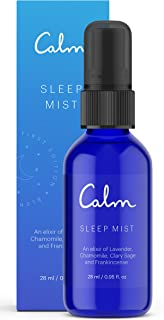 Calm Sleep Mist Pillow Spray with Essential Oils, Lavender, 28 ML