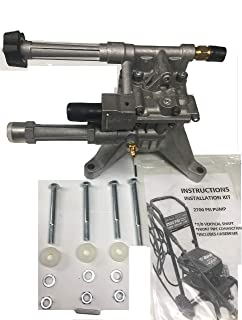 PRESSURE WASHER PUMP KIT EVERYTHING YOU NEED TO REPLACE PUMP DEVILBISS VR2300- VR2522 ALL FRONT PIPE CONNECTIONS VERTICAL MODELS INCLUDING EXCELL DEVILBISS MODELS VR2300-VR2500-VR2525 VR2400 VR2200 EXVRB2321 EXVRB2325