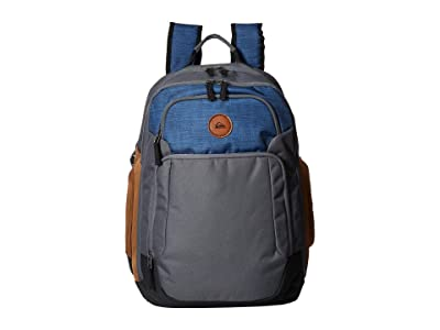 Quiksilver Shutter Backpack (Fjord Blue Heather) Backpack Bags