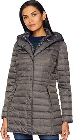 Faux Down Jacket N8121