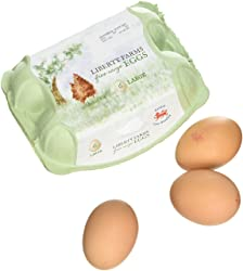 Liberty Farm Large Free Range Eggs, 6  eggs
