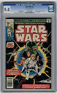 Star Wars #1 CGC 9.4 Off White pages 1977 Movie Adaptation Chaykin Art