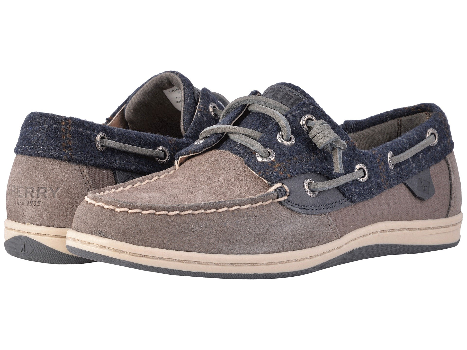 Sperry Songfish Suede Wool kqhSh