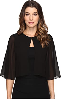 Tahari by ASL - Sleeved Chiffon Cover-Up
