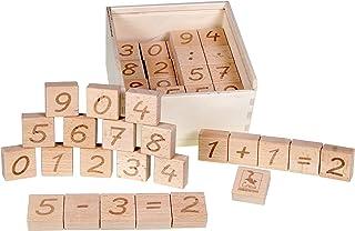 CreaBLOCKS ABC Lernklötze 26 Buchstaben Klötze mit