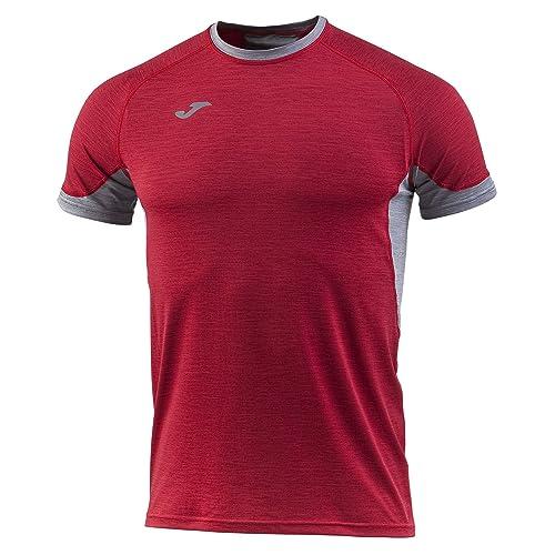 Joma Trail Camiseta Manga Corta, Hombre, Rojo, M