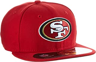 NFL Mens San Francisco 49ers On Field 5950 49ers Red Game Cap By New Era
