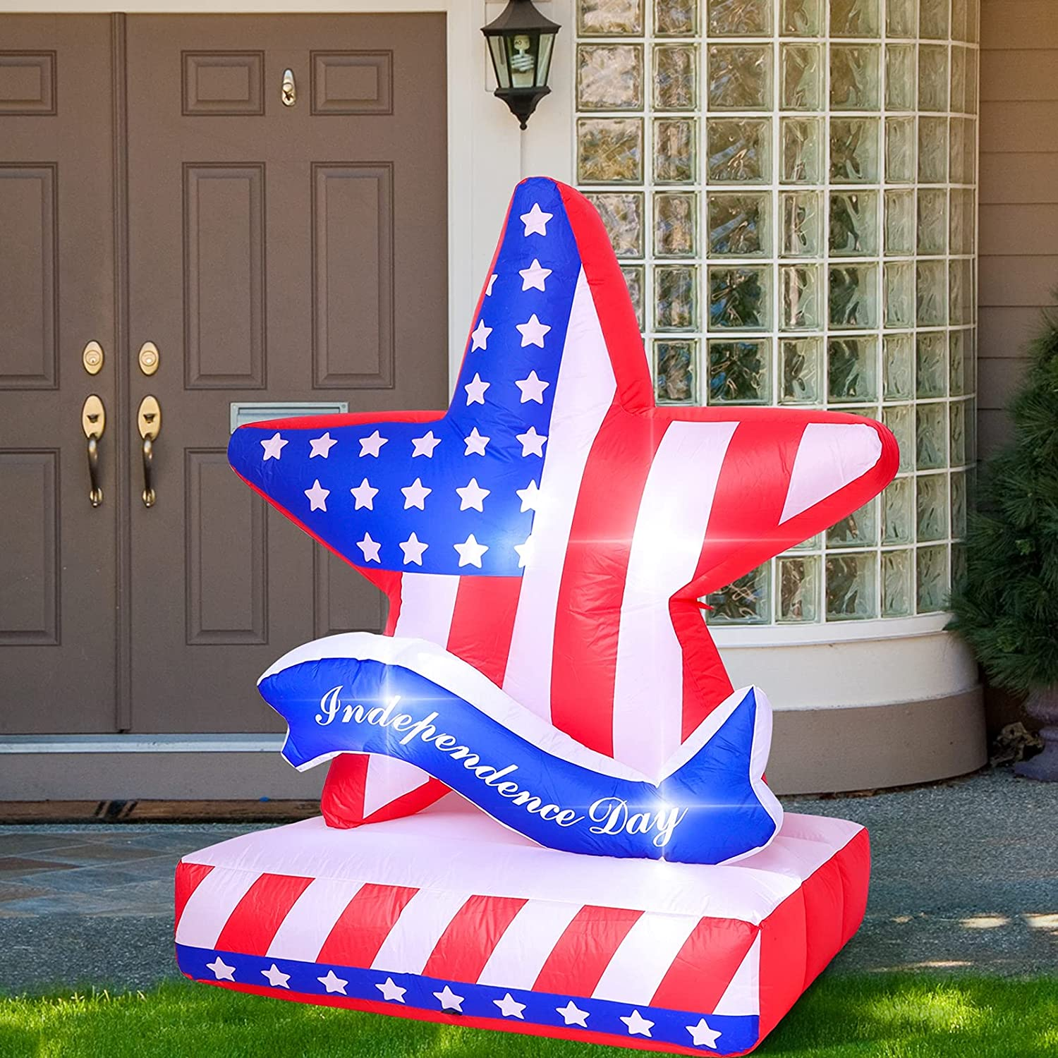 ELCOHO Patriotic Independence Popular brand in the world Day Inflatables Decorations Inflat Luxury