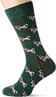 Ind Cow-c/21 Calcetines, Verde (Green 21), One Size (Tamaño del fabricante: U) para Hombre