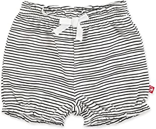 Baby Girl Organic Cotton Ruffle Shorts, Baby Bloomers