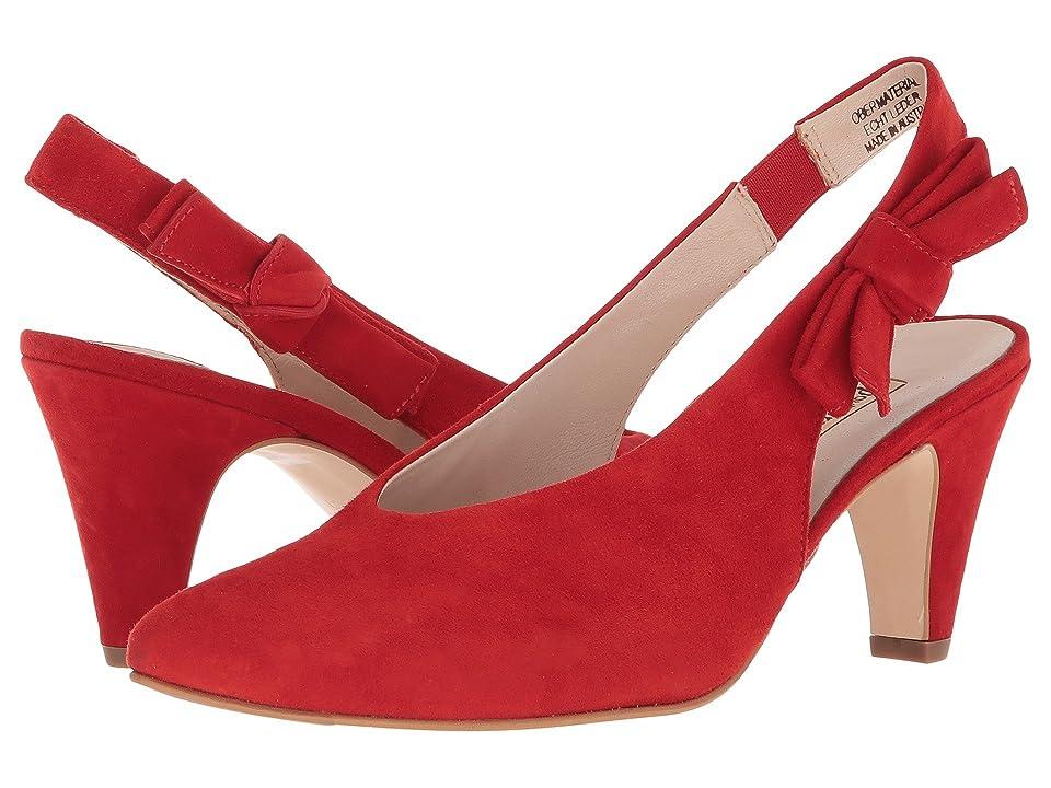 Paul Green Regina (Red Suede) High Heels