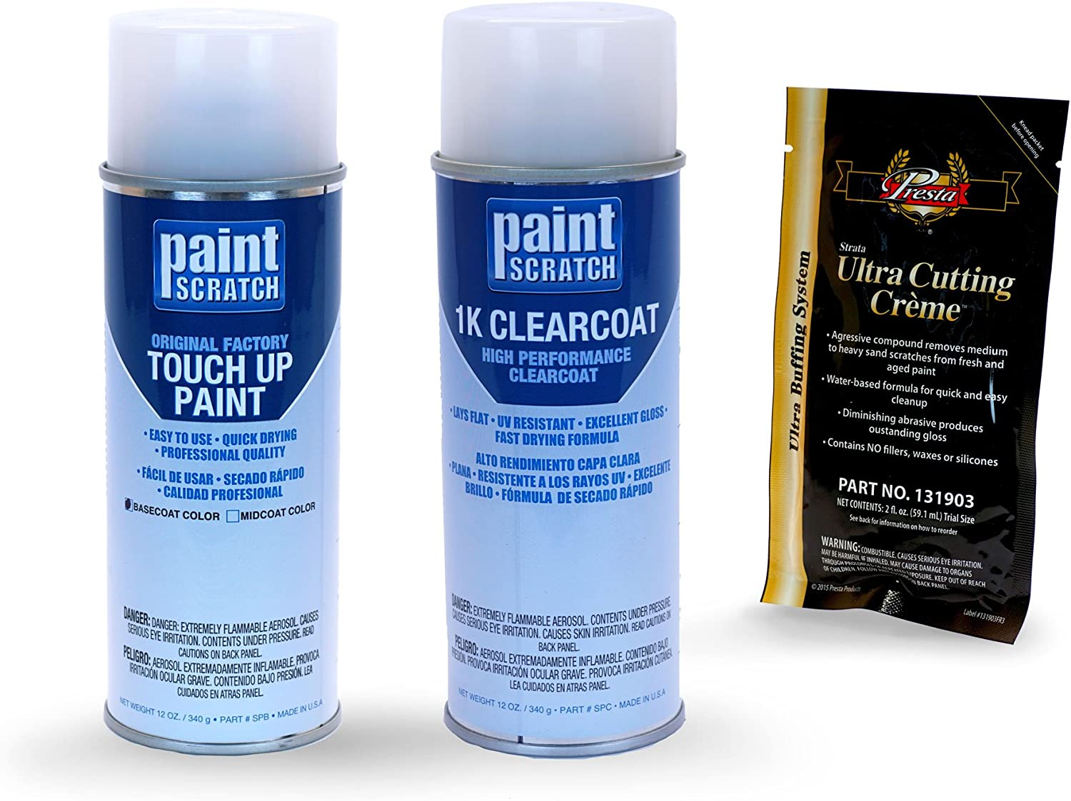 PAINTSCRATCH Touch online shopping Up New Free Shipping Paint Spray Can Repair Kit Car C - Scratch