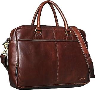 """STILORD Aaron"""" Umhängetasche Leder 15,6 Zoll Laptoptasche Aktentasche Bürotasche Unitasche mit Schultergurt Business Vintage"""
