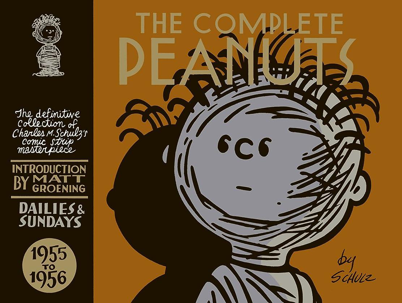 愛されし者火傷ラベルThe Complete Peanuts Vol. 3: 1955–1956 (English Edition)
