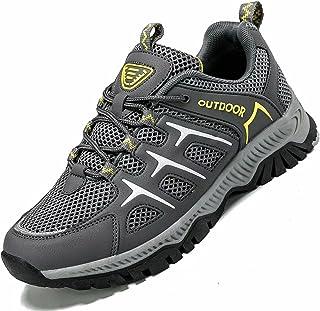 احذية مشي فون كوسير للرجال والنساء غير قابلة للانزلاق بشبكة مسامية لممارسة الرياضة والمشي في الهواء الطلق ورحلات رياضية