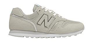 New Balance Side Stitched Logo Lace up Sneakers For Women