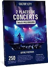 CULTUR 'in The City Coffret Cadeau - Box Musique - 600 Concerts Premium - 250 Salles en France - Places de Concert Pop, El...