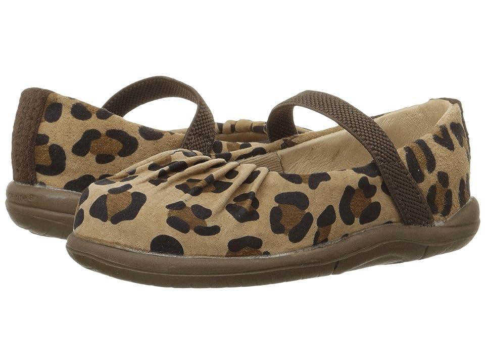 Stride Rite SRT Cassie (Toddler) (Brown/Animal) Girls Shoes