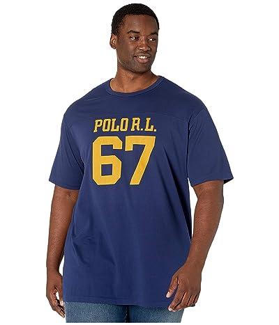 Polo Ralph Lauren Big & Tall Big Tall Classic Fit Graphic T-Shirt (Cruise Navy) Men