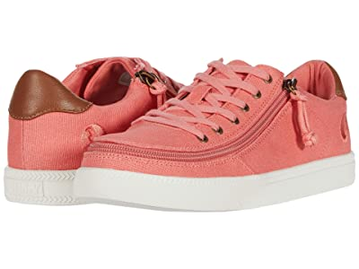 BILLY Footwear Classic Lo (Coral/White) Women