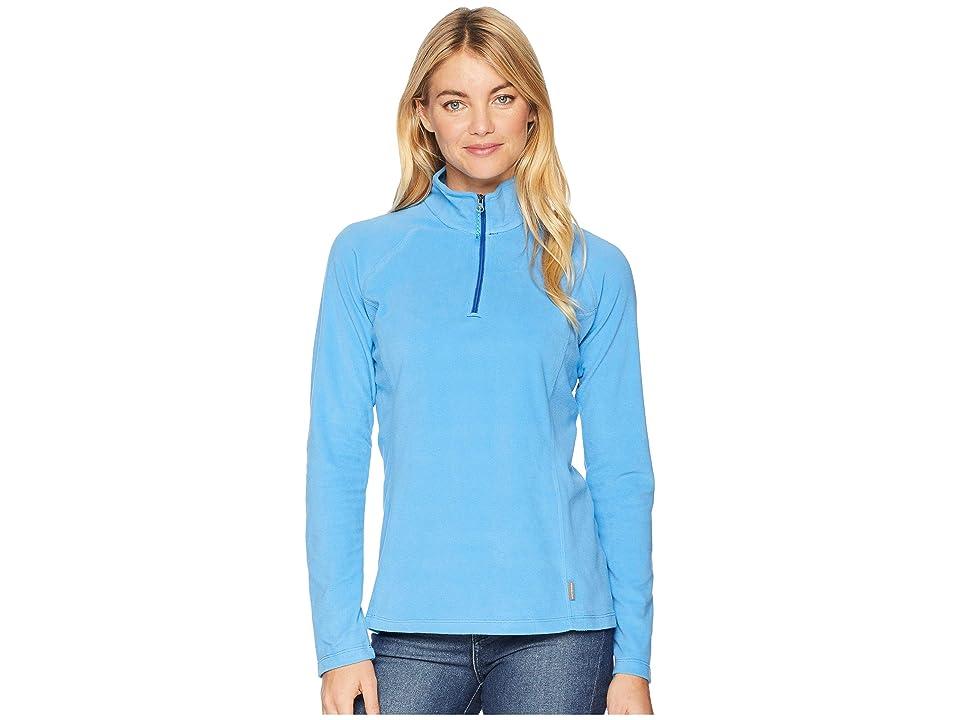 White Sierra Alpha Beta 1/4 Zip (Azure Blue) Women