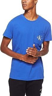 Calvin Klein Jeans Men's Monogram Logo Slim T-Shirt with Pocket