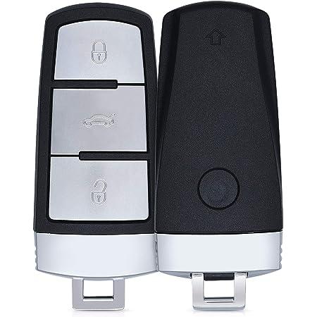 Kwmobile Autoschlüssel Gehäuse Kompatibel Mit Bmw 3 Tasten Smart Key Autoschlüssel Ohne Transponder Batterien Elektronik Auto Schlüsselgehäuse Schwarz Auto