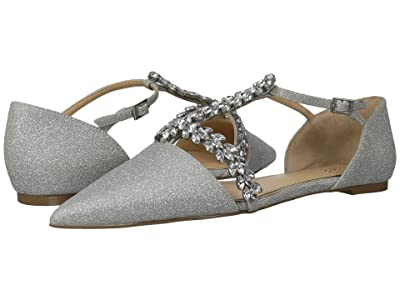 Jewel Badgley Mischka Maury (Silver) Women