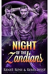 Night of the Zandians: A Reverse Harem Alien Warrior Romance (Zandian Brides Book 1) Kindle Edition