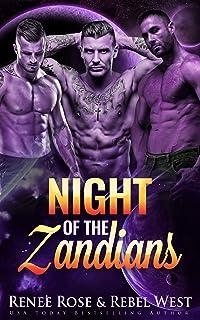 Night of the Zandians: A Reverse Harem Alien Warrior Romance (Zandian Brides Book 1)
