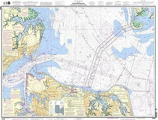 NOAA Chart 12222: Chesapeake Bay Cape Charles to Norfolk Harbor