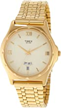 Timex Men's Classics Analog Gold Dial Watch