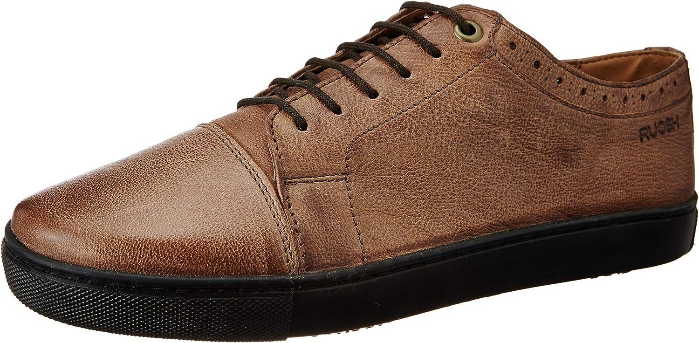 Ruosh Men's Tan Sneakers-7.5 UK India (41 EU)(AW18 Villa 01F)