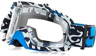 Fox Racing Air Space Cauz Unisex Motox Motorcycle Goggles Eyewear - Blue/Clear/No Size