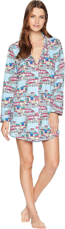 BedHead Womens Classic Notch Collar Sleepshirt