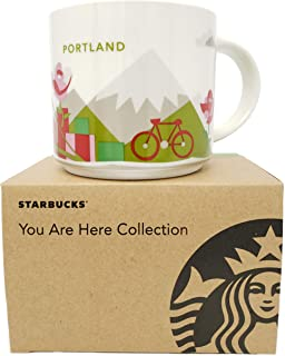 Starbucks Portland Oregon Coffee Mug You Are Here Collection 14 ounces