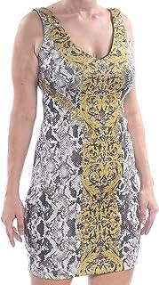 GUESS womens Sleeveless Rae Dress Dress